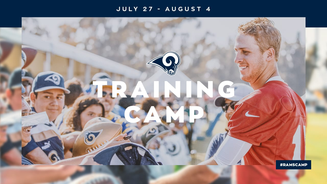 1b60fd56 The Dream Continues: 2019 Los Angeles Rams Training Camp