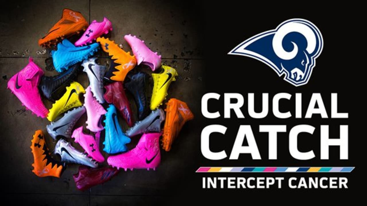 the latest 144ad 33033 Rams Support #CrucialCatch Campaign