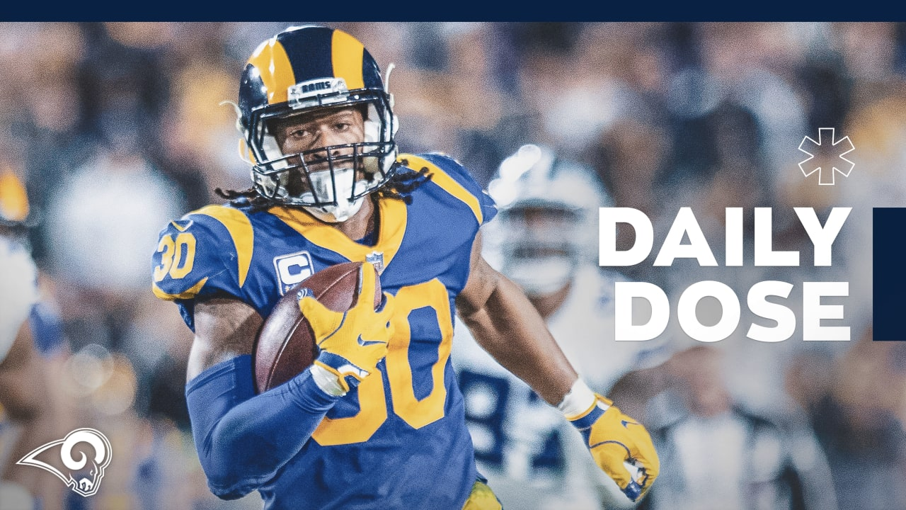 Daily Dose Todd Gurley Is Ladanian Tomlinson S Top Running Back To Begin 2019