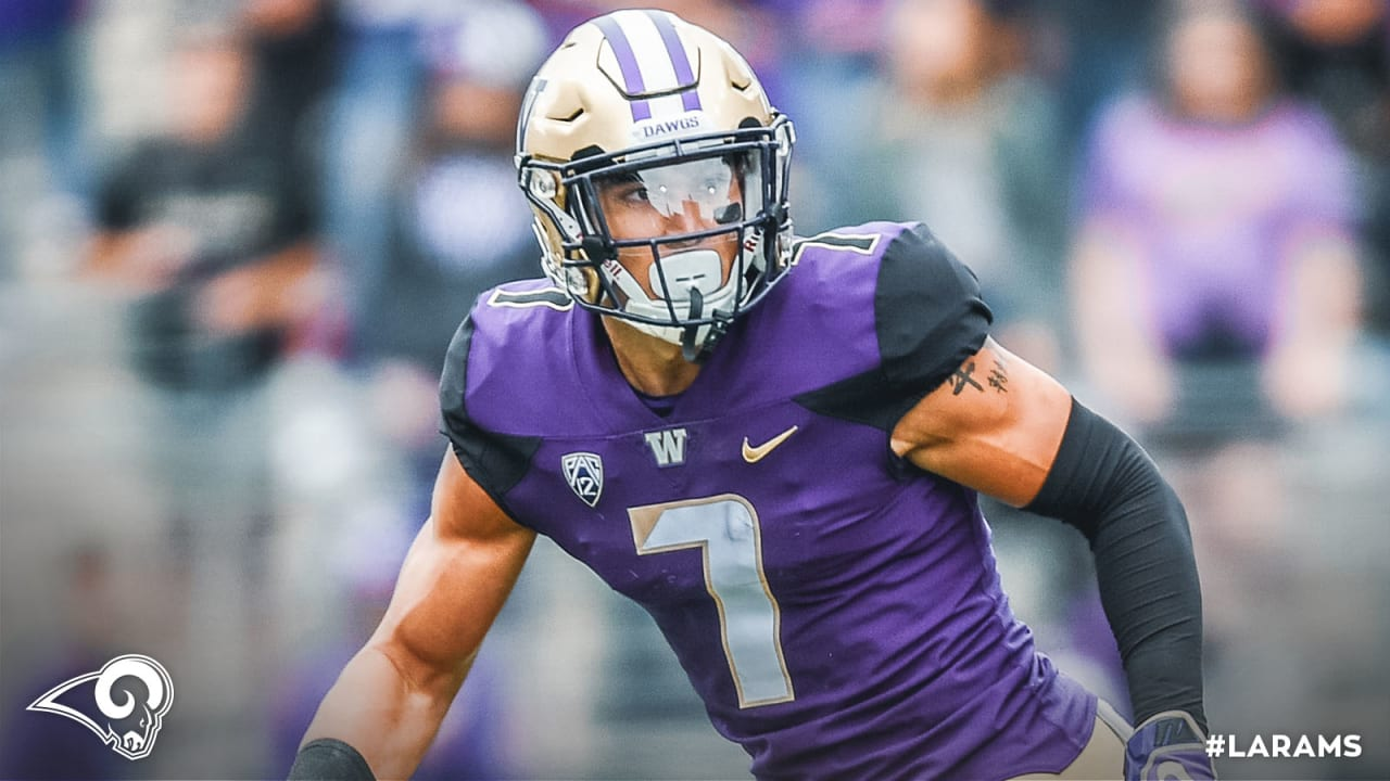 new style bc54b f4a01 Meet Taylor Rapp: Three things to know about the Rams' new ...