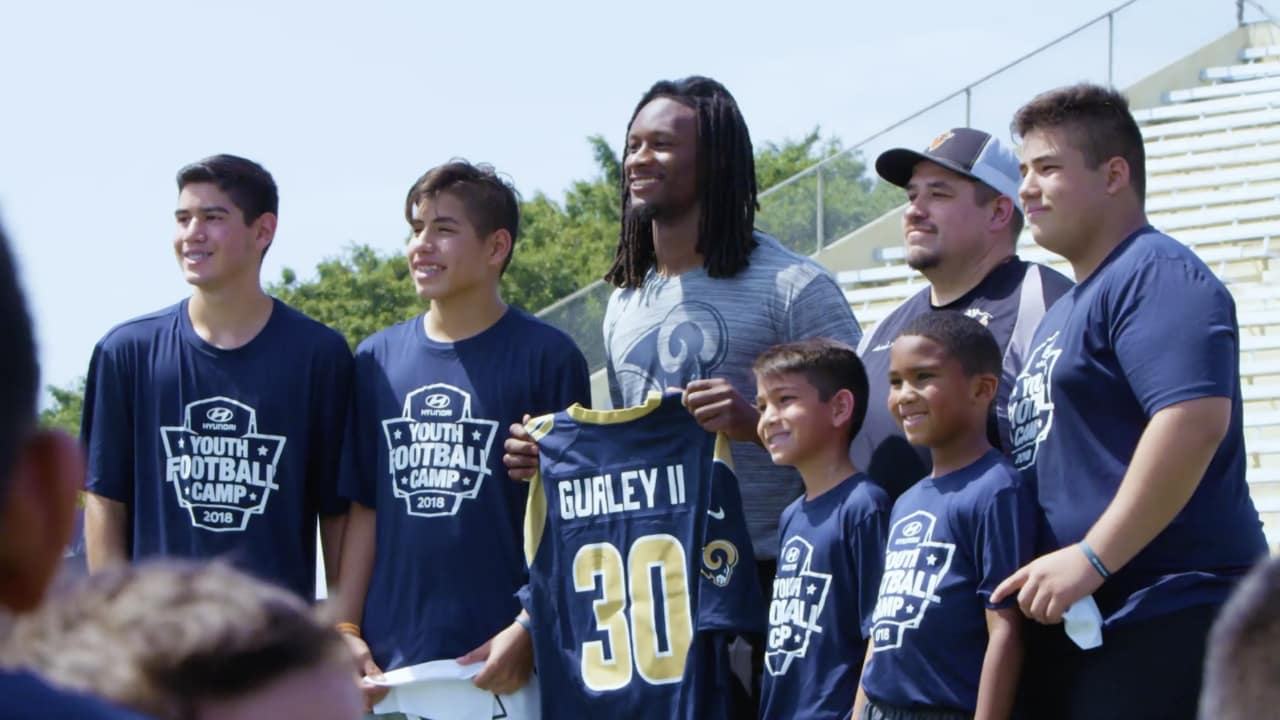 Todd Gurley Hosts Hyundai Youth Football Camp