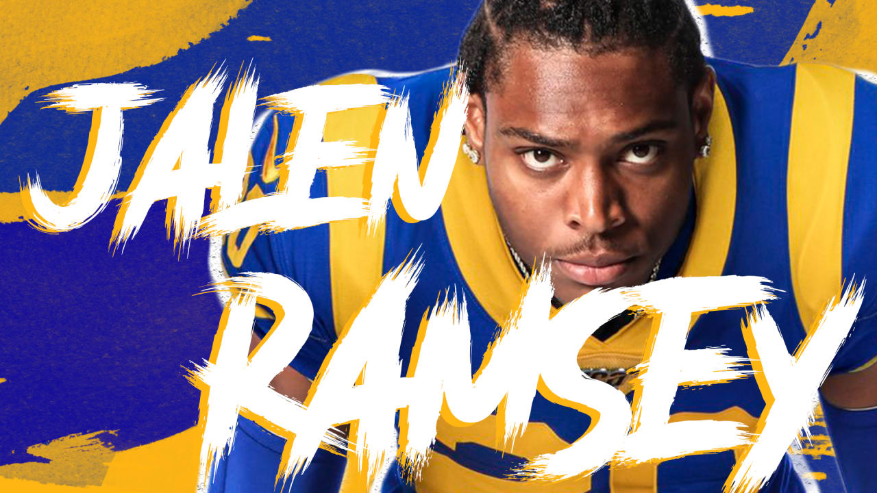 Rams News Now >> HIGHLIGHTS: Welcome to the Rams, Jalen Ramsey!