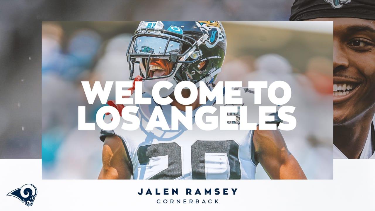 Rams trade for Jaguars CB Jalen Ramsey