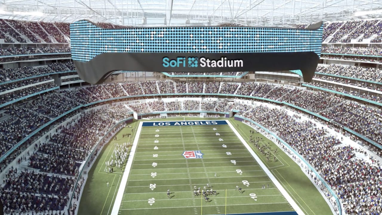 Rams News Now >> Welcome to SoFi Stadium, the future home of your Los ...