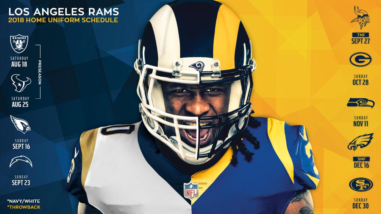 best website a4235 f8ee5 Rams Announce Uniform Updates