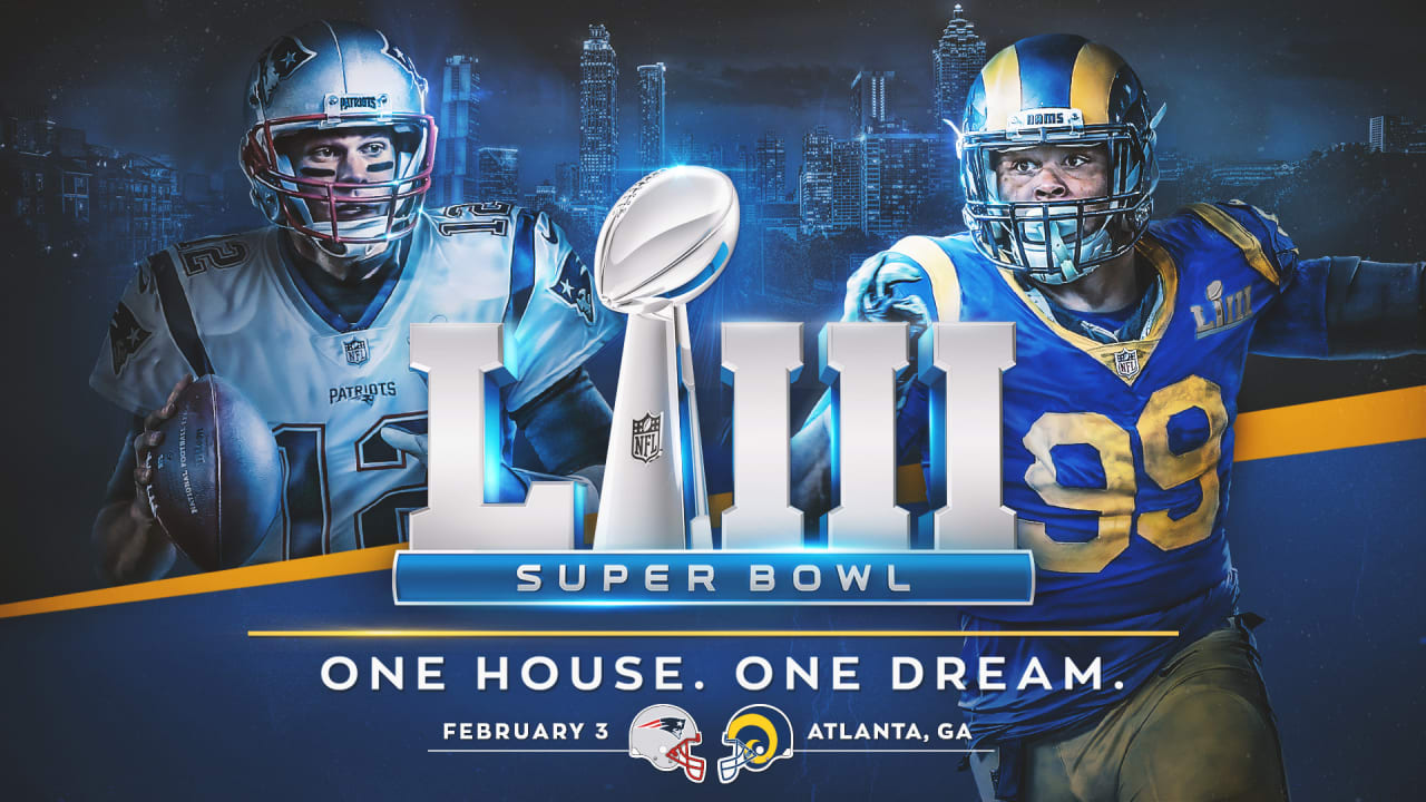 rams to face patriots in super bowl liii. Black Bedroom Furniture Sets. Home Design Ideas