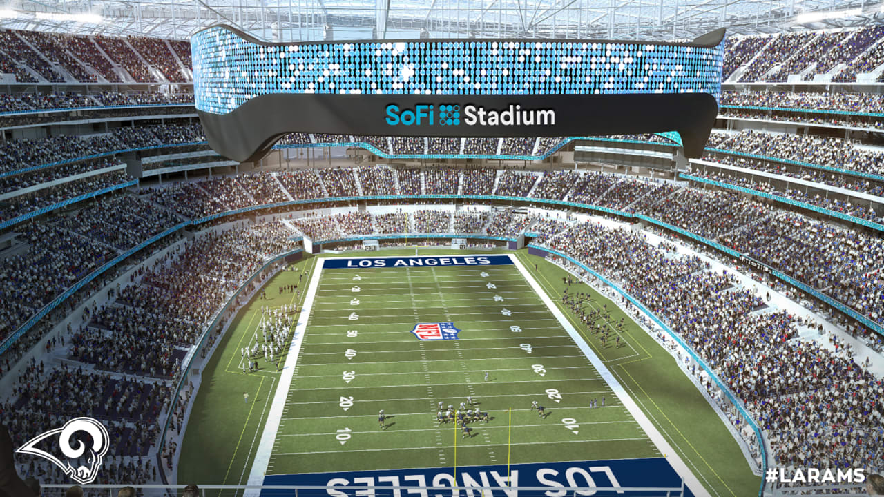 New Home Of The Los Angeles Rams Officially Named Sofi Stadium