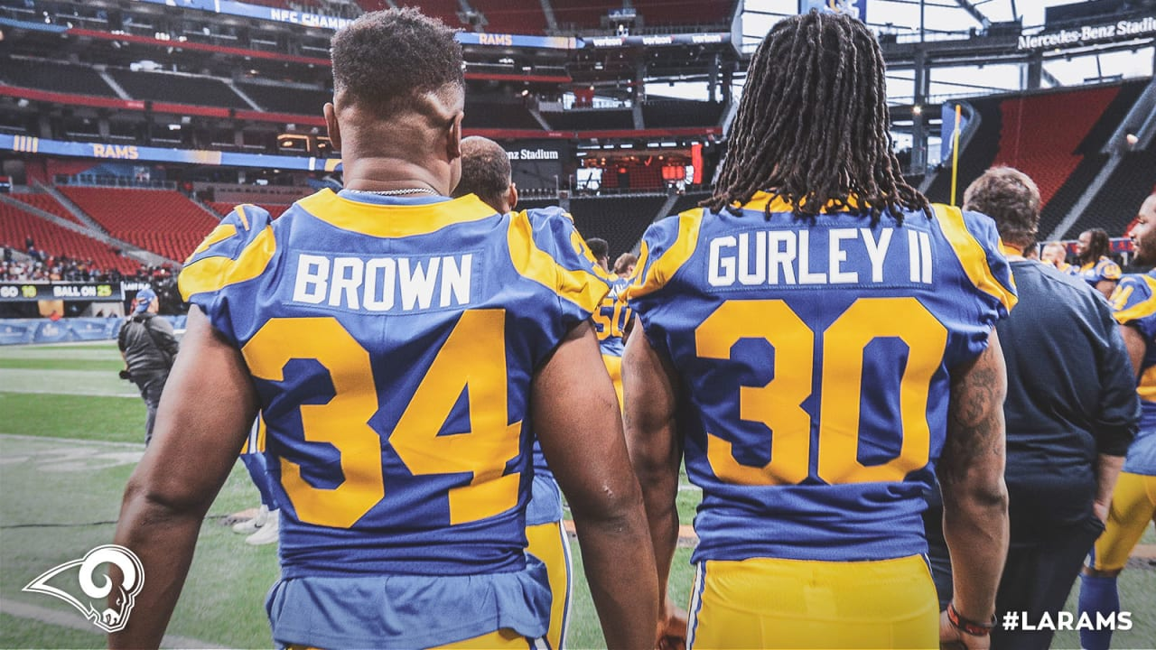 The Rams running back situation settles with the return of Malcolm ...