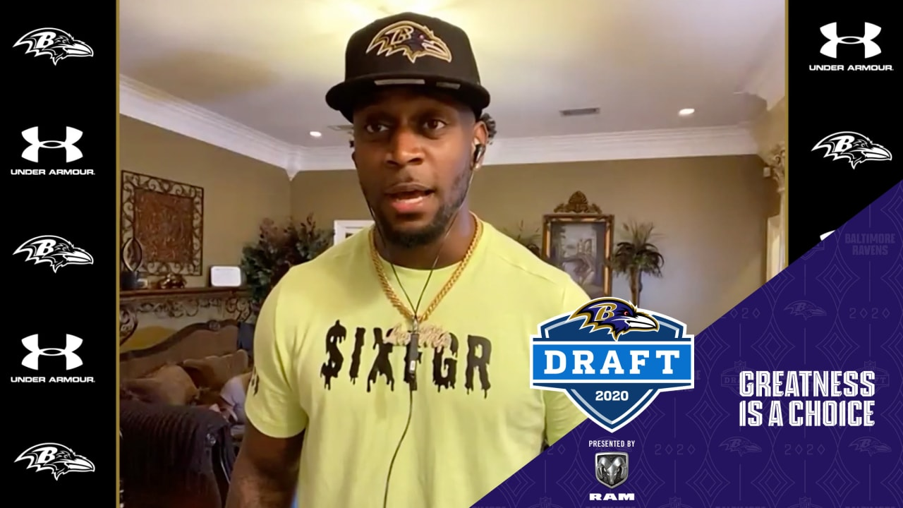 Patrick Queen's Draft Night Press Conference
