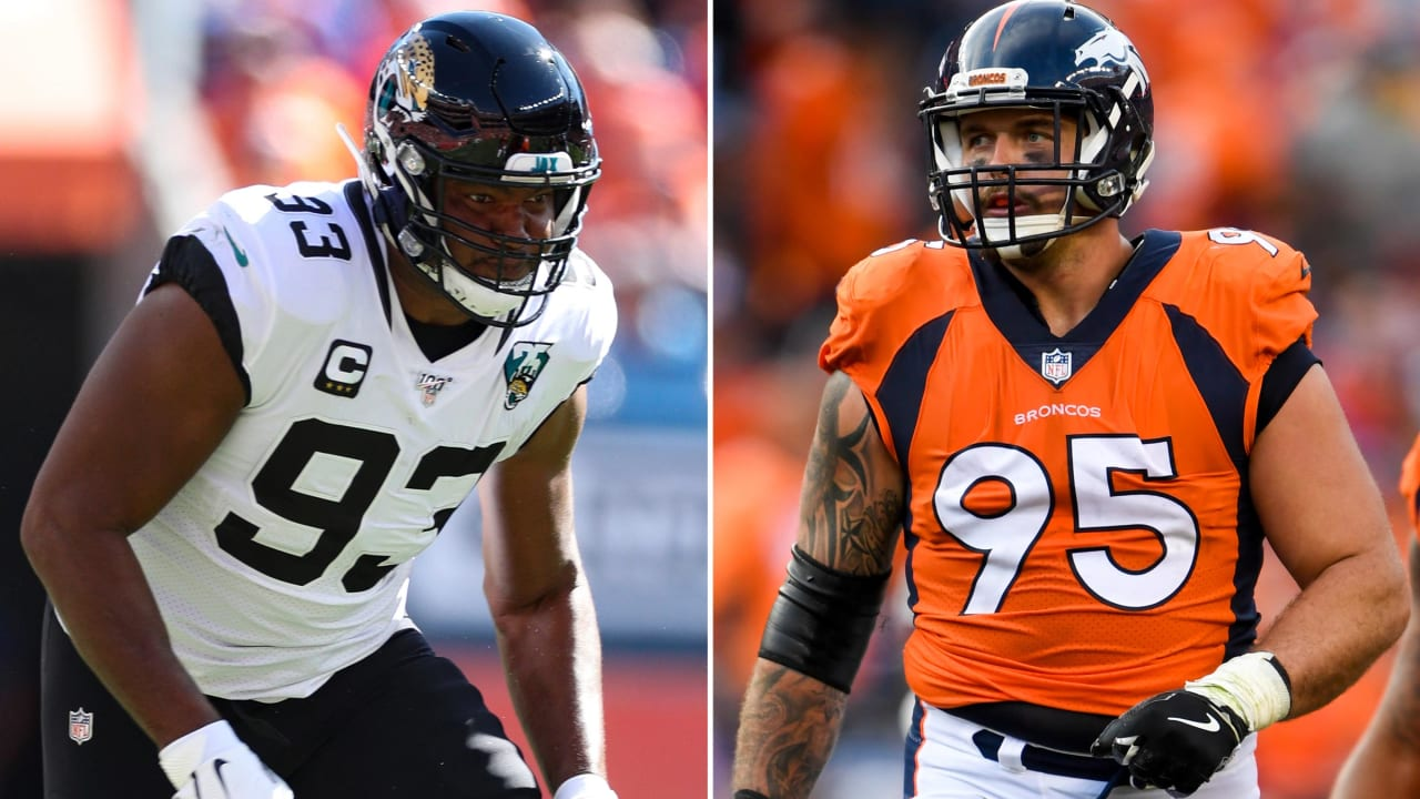 Calais Campbell and Derek Wolfe Get Their Jersey Numbers