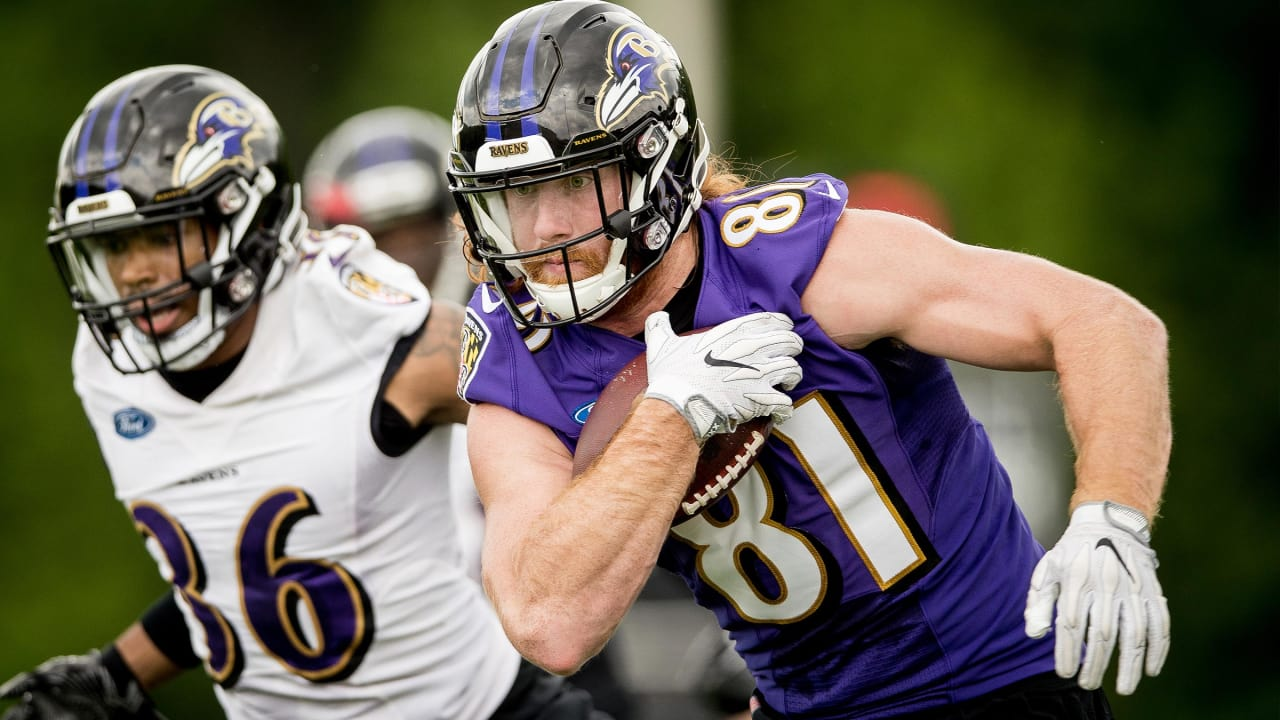 new product 257ae e0650 Hayden Hurst Is 'Chomping at the Bit' to Face Steelers