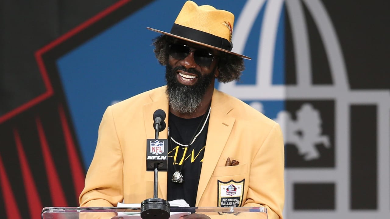 online store 7aa9e b355b Top 10 Moments From Ed Reed's Hall of Fame Speech