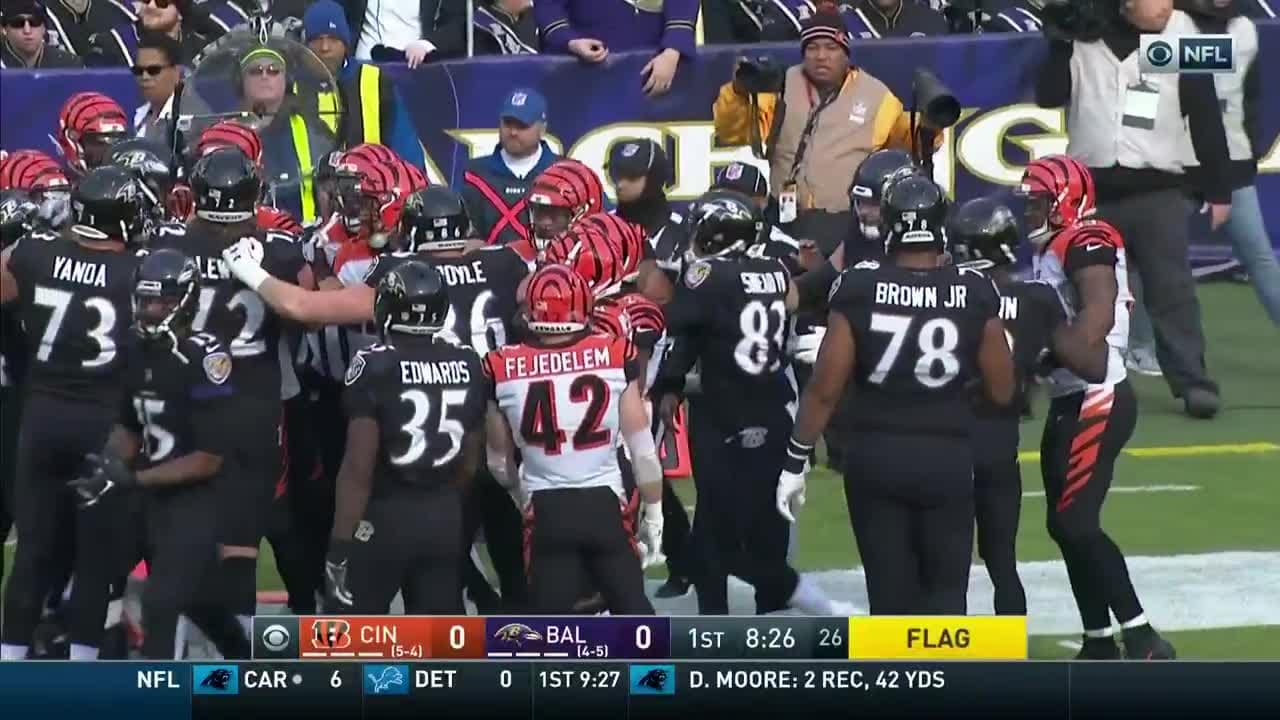 Highlight Skirmish Breaks Out With Michael Crabtree