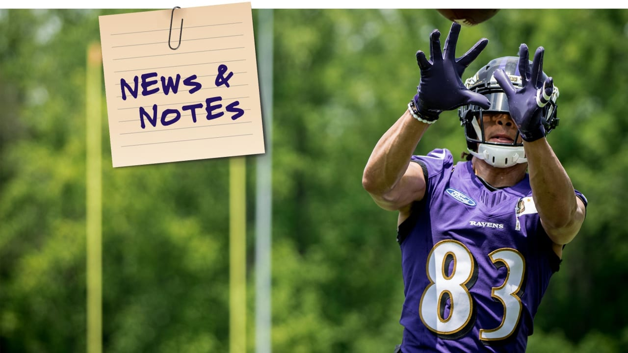 best sneakers 15e69 b450e News & Notes 5/30: Willie Snead IV Is Practicing Despite a ...