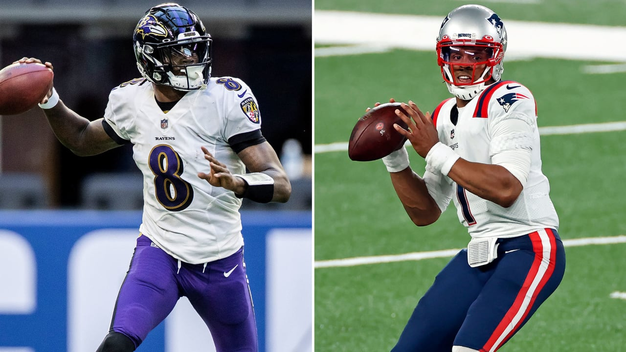 Lamar Jackson Looked Up to Cam Newton. Now He's Breaking His Records.