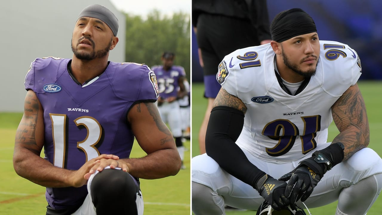 hot sale online c14a5 97420 Michael Floyd, Shane Ray Among Ravens' Friday Roster Cuts