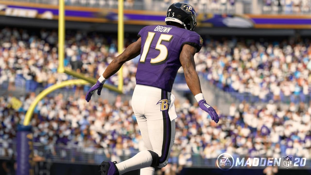 d70ef06f Takeaways and Player Reactions From Ravens' Madden 20 Ratings