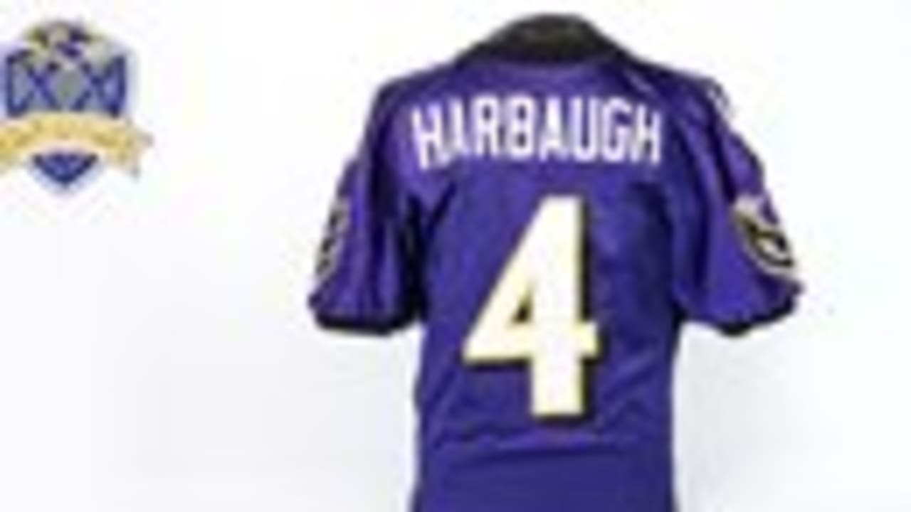 20 Ravens Relics In 20 Years: Jim Harbaugh's Ravens Jersey