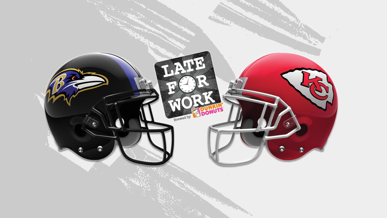 c8987378 Late for Work 12/7: Predictions for Ravens vs. Chiefs