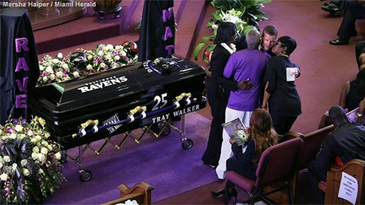 Ravens Celebrate The Life Of Tray Walker