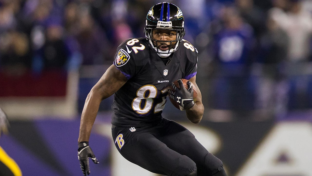 buy popular 107d6 8b734 Torrey Smith Retires From Football, Then Watches Ravens Practice