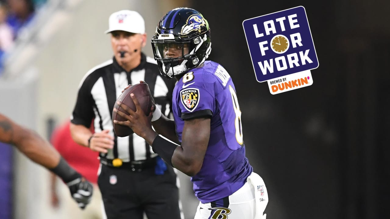 40f6d5ff Late for Work 8/9: Ravens Impress on Both Sides of Ball in Preseason Win