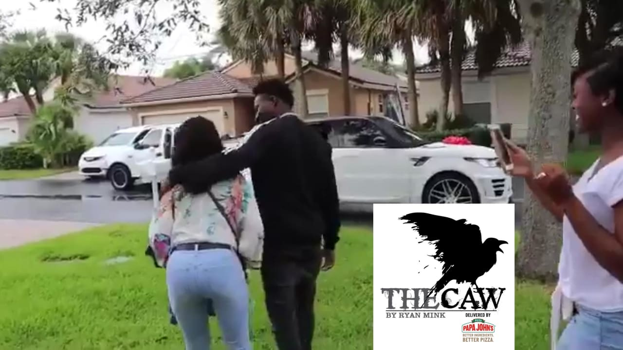 The Caw Marquise Brown Surprises Mom With A New House And Car