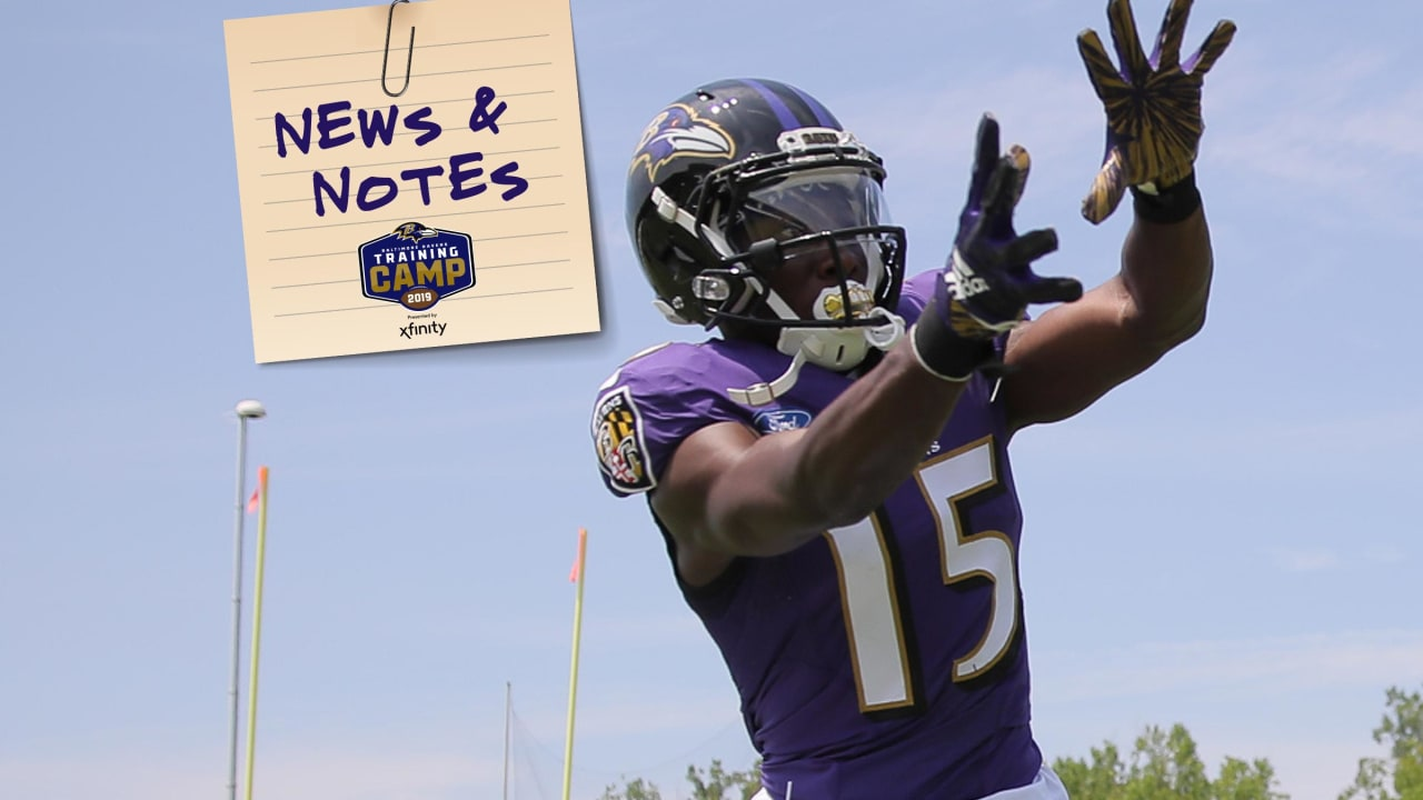 News & Notes: Marquise Brown Is 'Full-Go' for Regular-Season