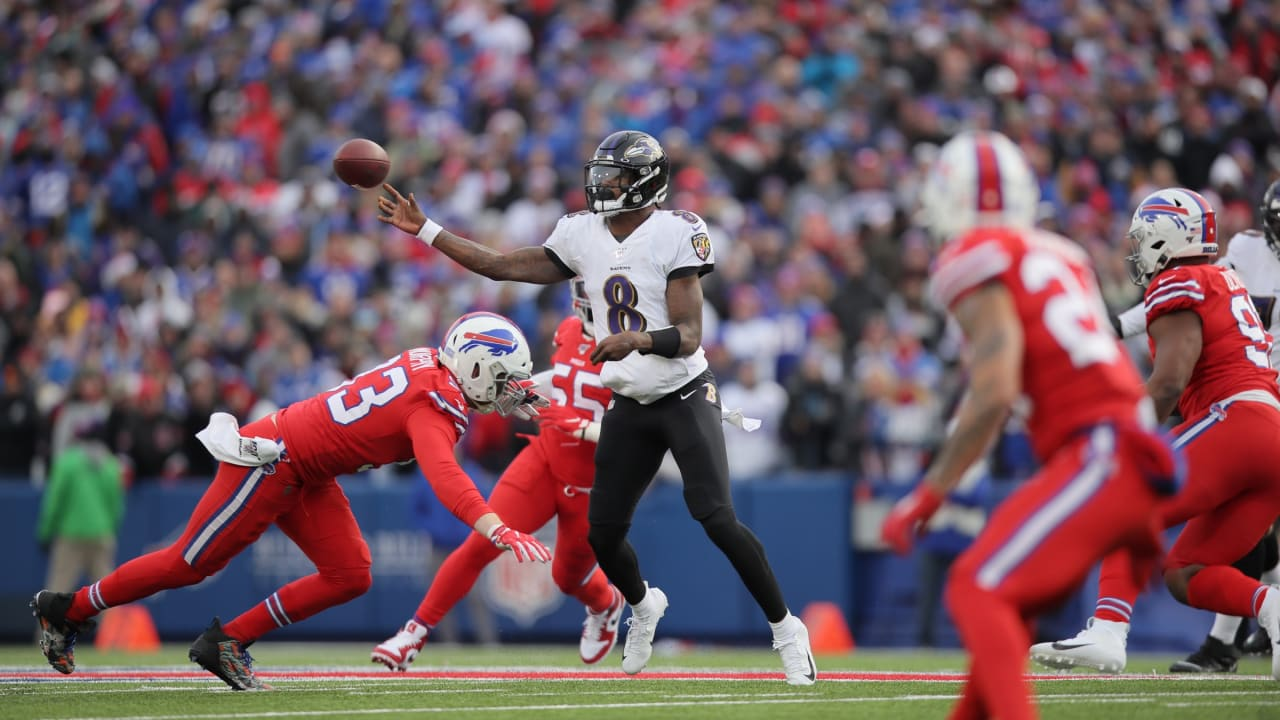 Highlights Lamar Jackson S Best Plays Vs Bills