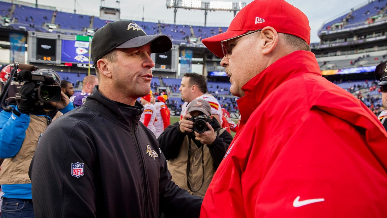 Andy Reid Didn't Pass on John Harbaugh 19 Years Ago. Now He'll Try to Pass Against Him