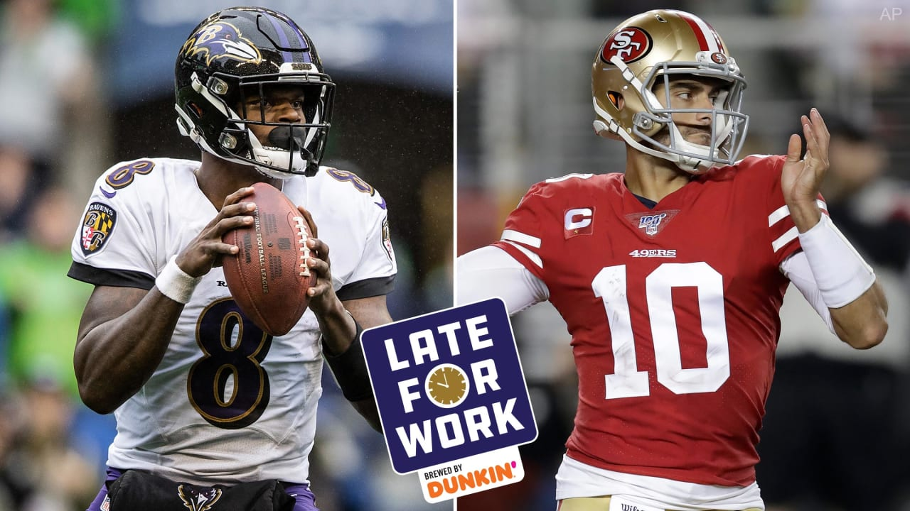 Late For Work 11 29 Predictions For Ravens Vs 49ers