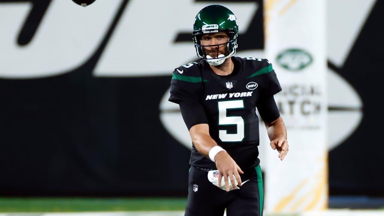 Joe Flacco Steps in as New York Jets' Starter
