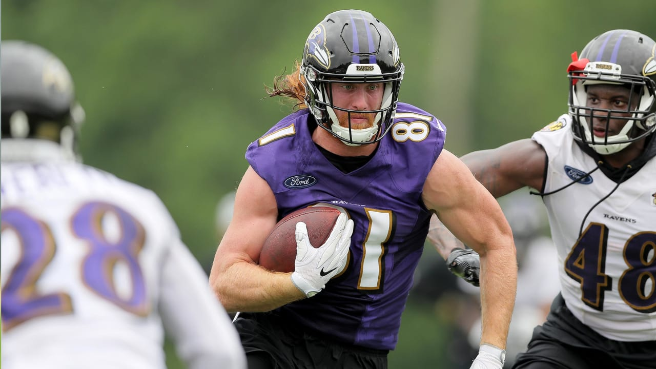 Hayden Hurst Knows He Has to Produce Right Away, and He's Ready