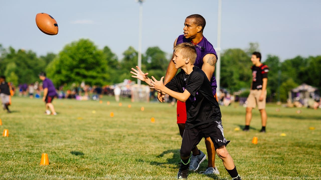 Play Like a Raven Football Clinics