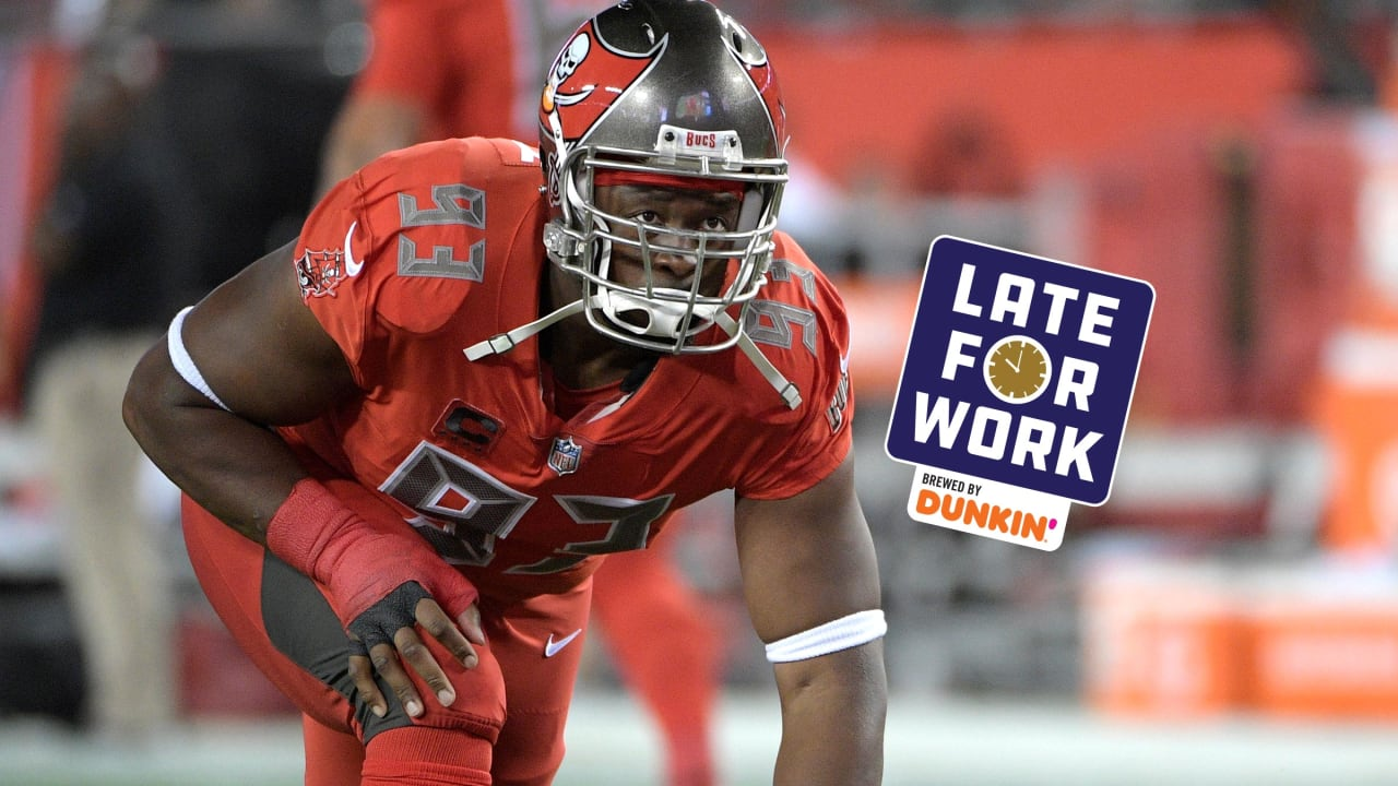 37dc93f5 Late for Work 6/4: Why Gerald McCoy Chose the Panthers Over Ravens