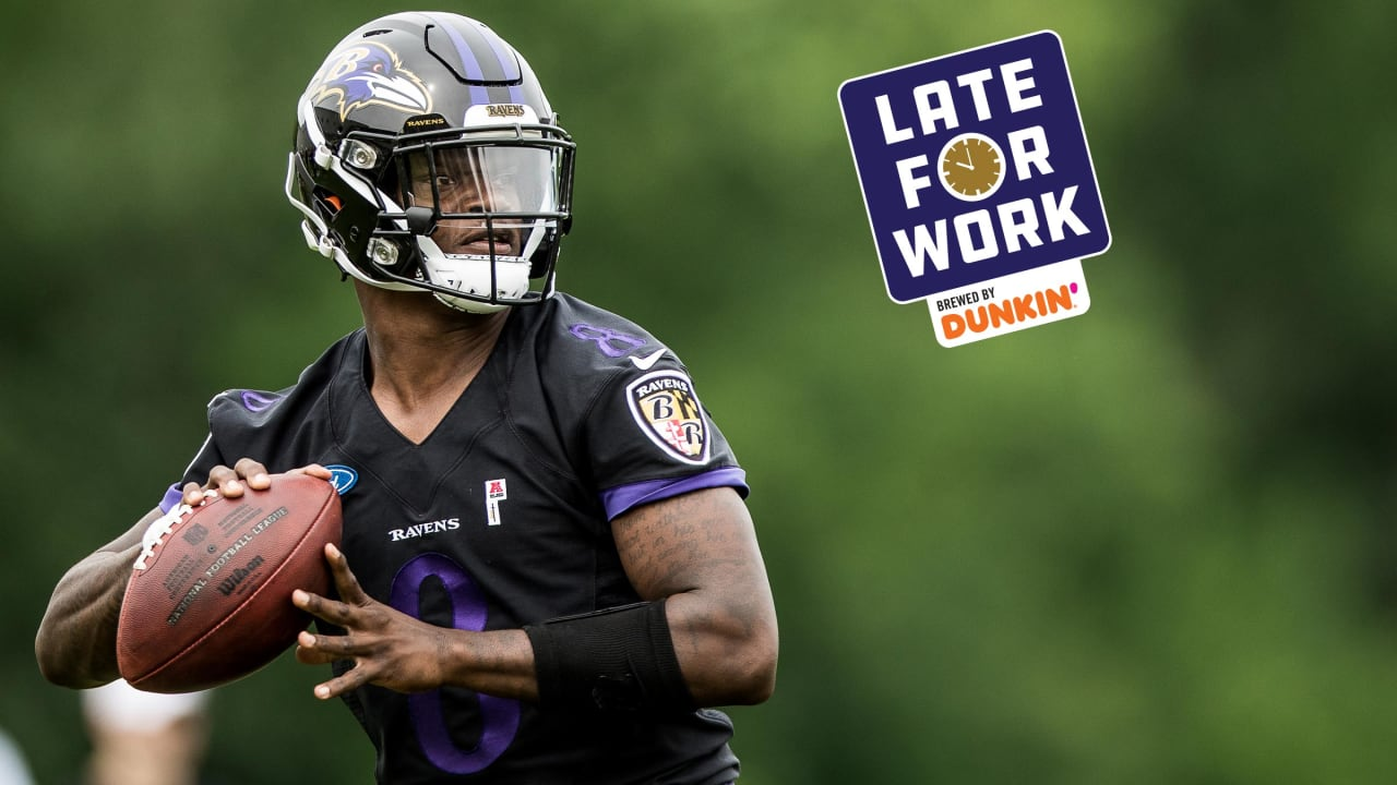 super popular 2866b 1c912 Late for Work 7/18: NFL Analyst Says Lamar Jackson Will ...