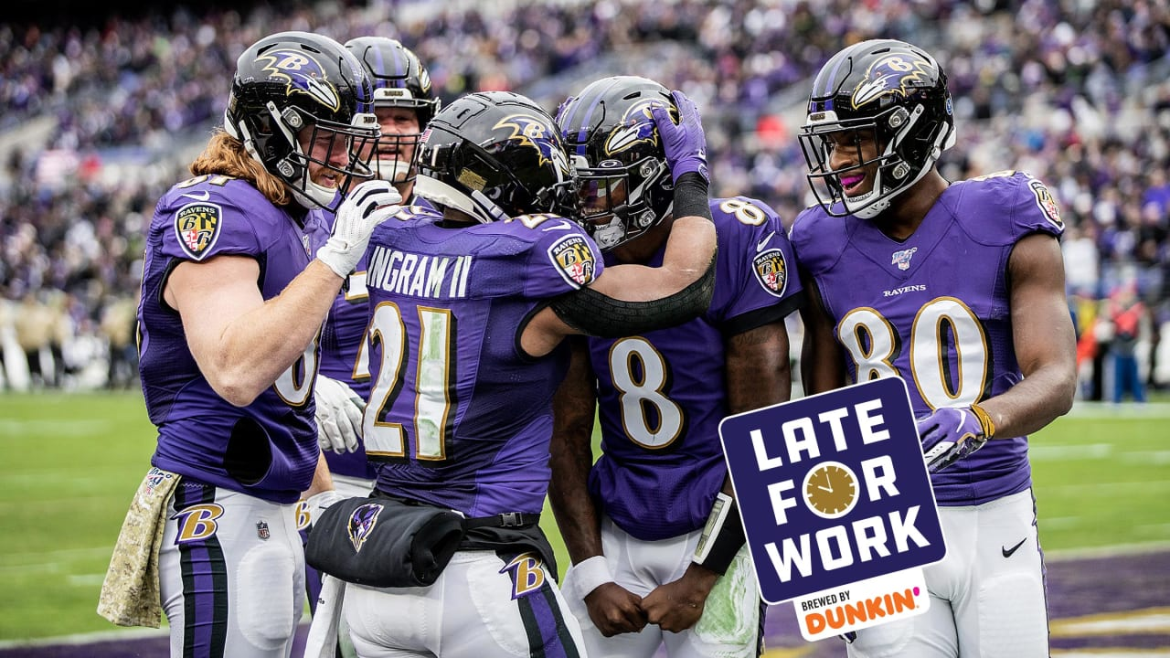 Late for Work 11/18: NFL's Best? Ravens Look the Part in Rout of Texans - BaltimoreRavens.com