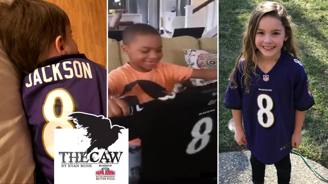 The Caw: Lamar Jackson Loves Seeing Kids Get His Jersey for Christmas