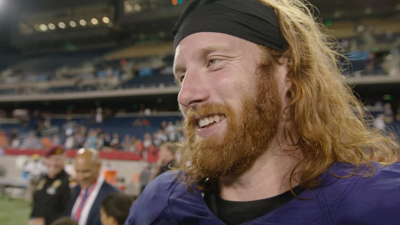 Walk-Off Interview  Hayden Hurst Talks About His NFL Debut 35bed50c9