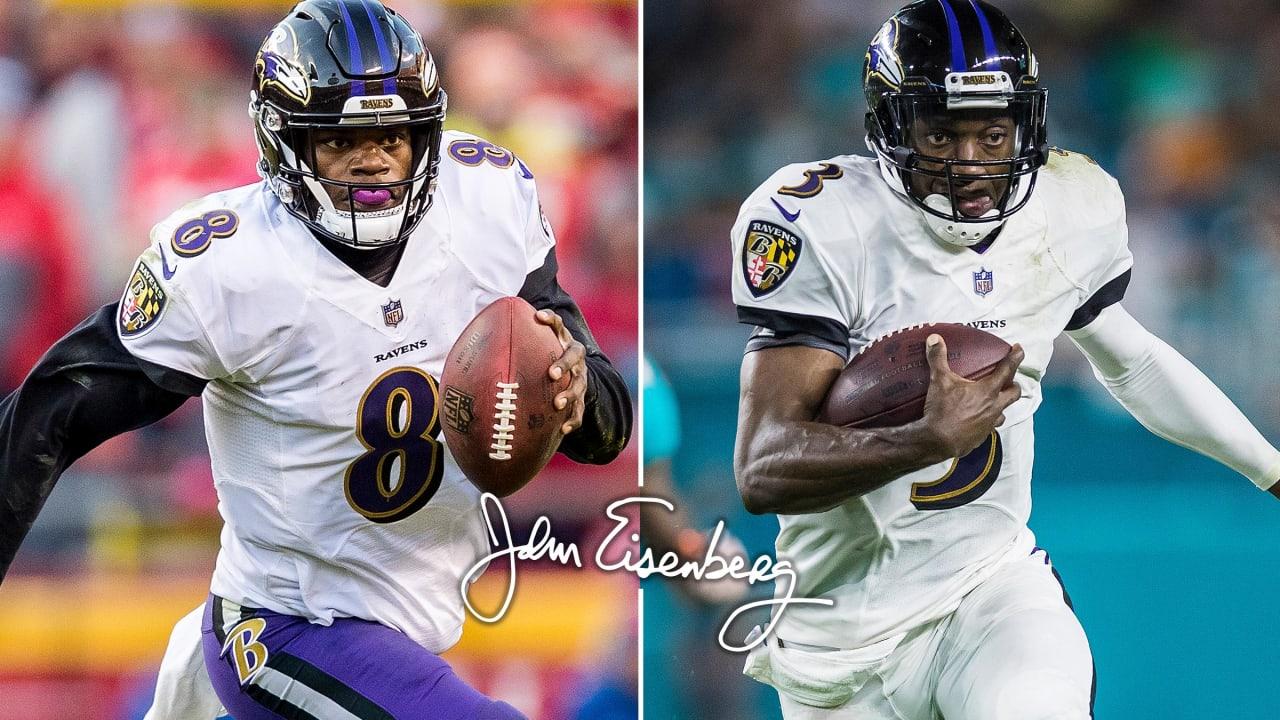 Eisenberg  Ravens Have a Surprising Take on Lamar Jackson s Running bd0c864d1