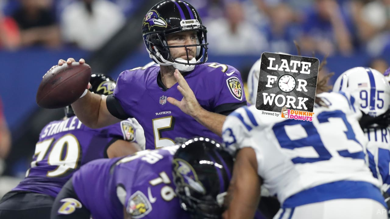Late for Work 8 22  There s Chatter About Ravens Being Among AFC s Best 81e23f8d1