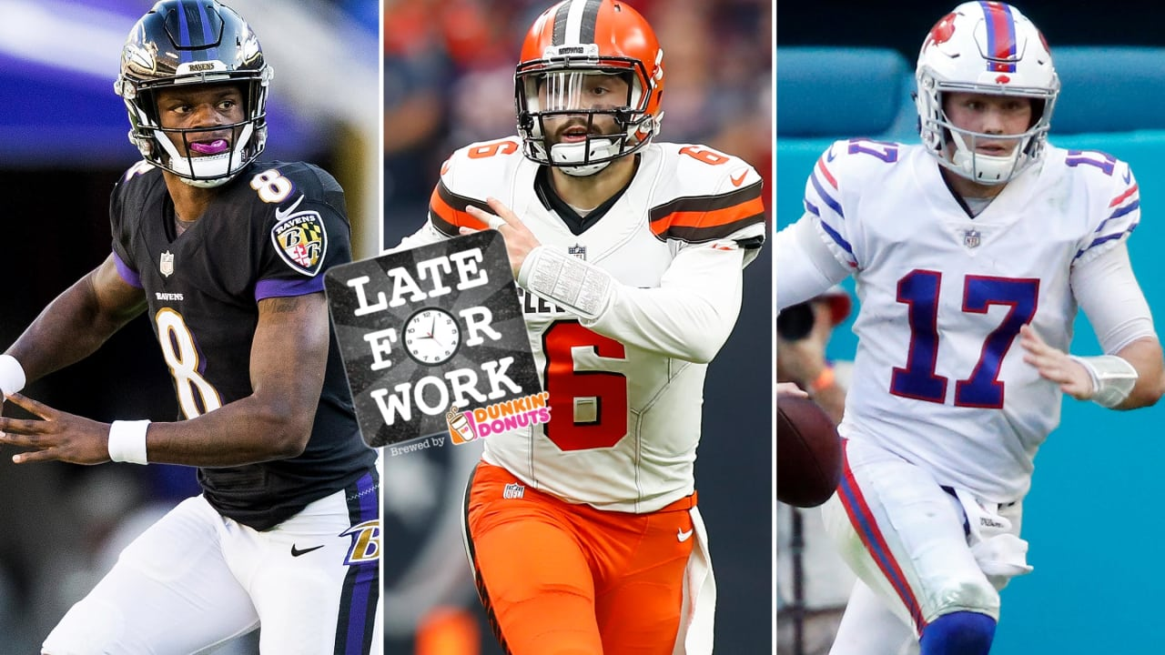 Late For Work 12 6 Comparing Lamar Jackson To Other Rookie