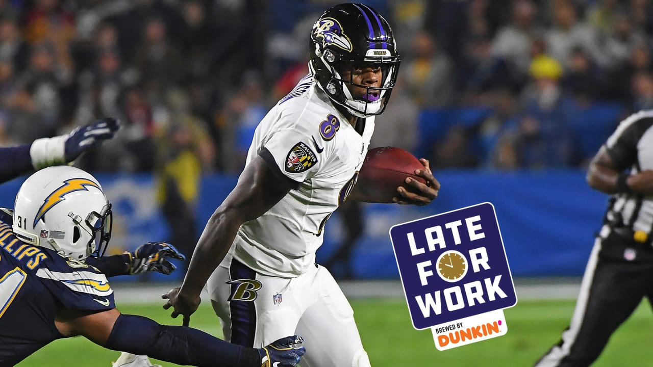 Late For Work 8 2 Lamar Jackson I Don T Think I Ll Be Running As Much As I Did Last Year