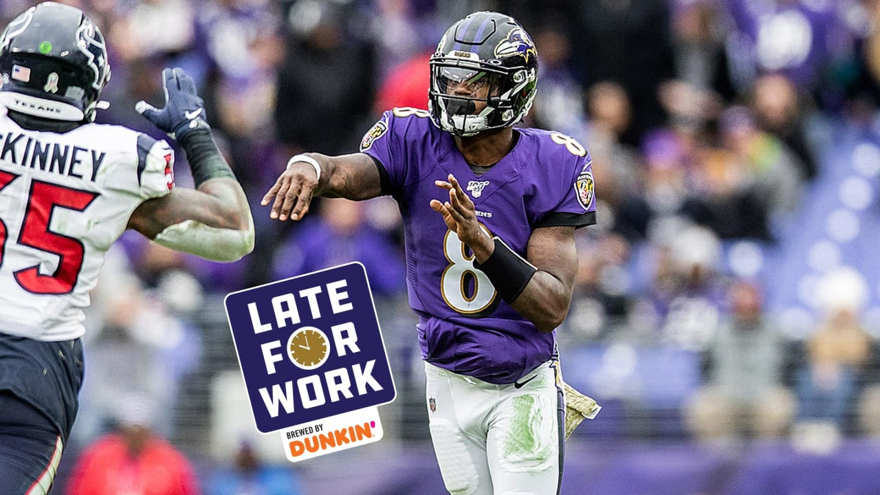 Late For Work 11 19 Michael Vick What Lamar Jackson Is Doing Is Shocking