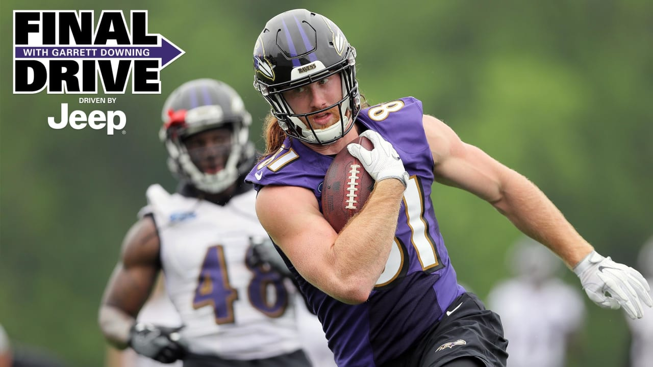 7415bbd92 Final Drive  Hayden Hurst Is Already Standing Out at Ravens OTAs