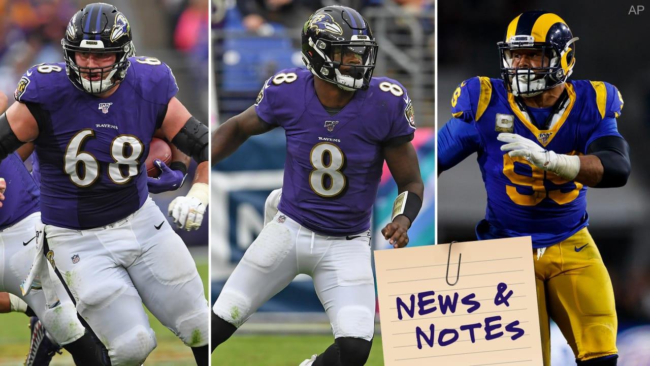 News & Notes: How Ravens Are Preparing for 'Game-Wrecker' Aaron Donald - BaltimoreRavens.com
