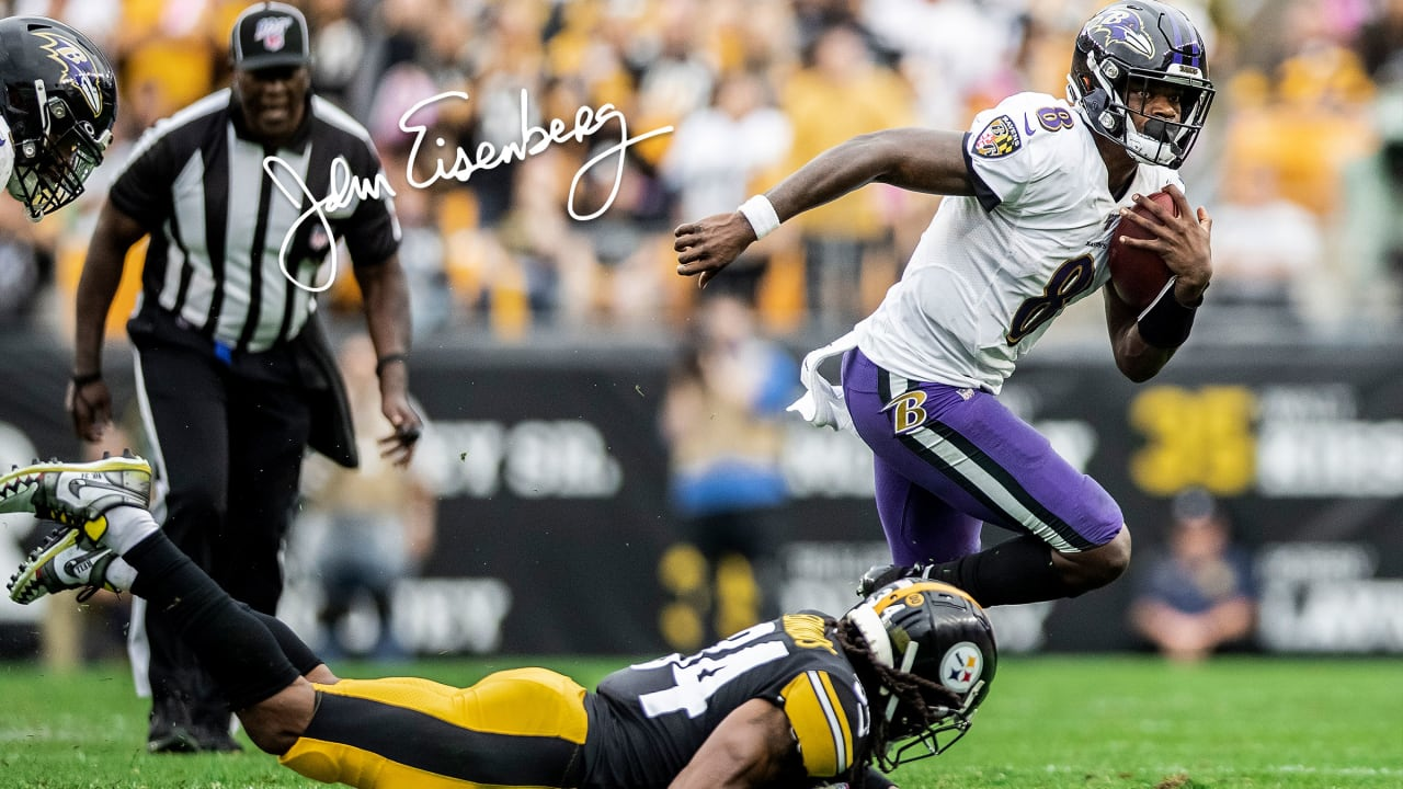 Eisenberg Ravens Steelers Clash Brings A Slice Of Normalcy