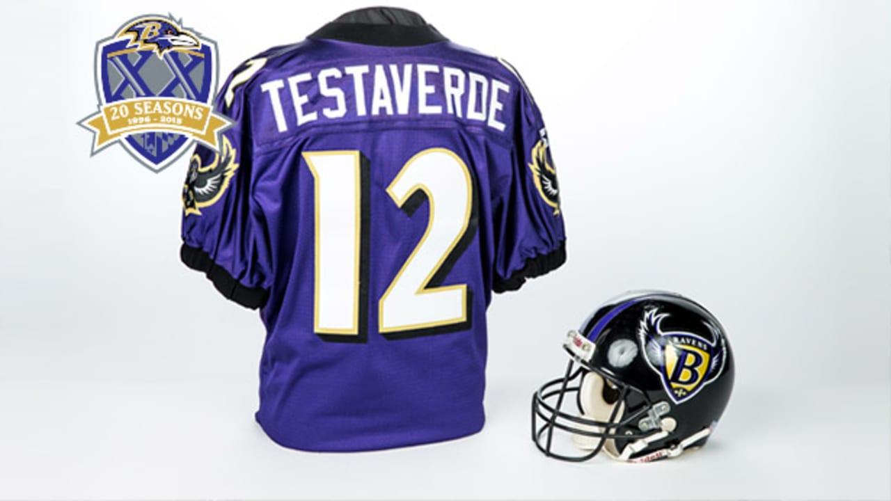 20 Ravens Relics In 20 Years: Vinny Testaverde's 1996 Jersey