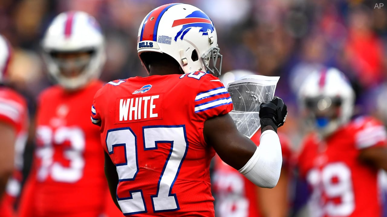 What Bills Tre Davious White Saw When Ravens Papers Blew Onto The Field