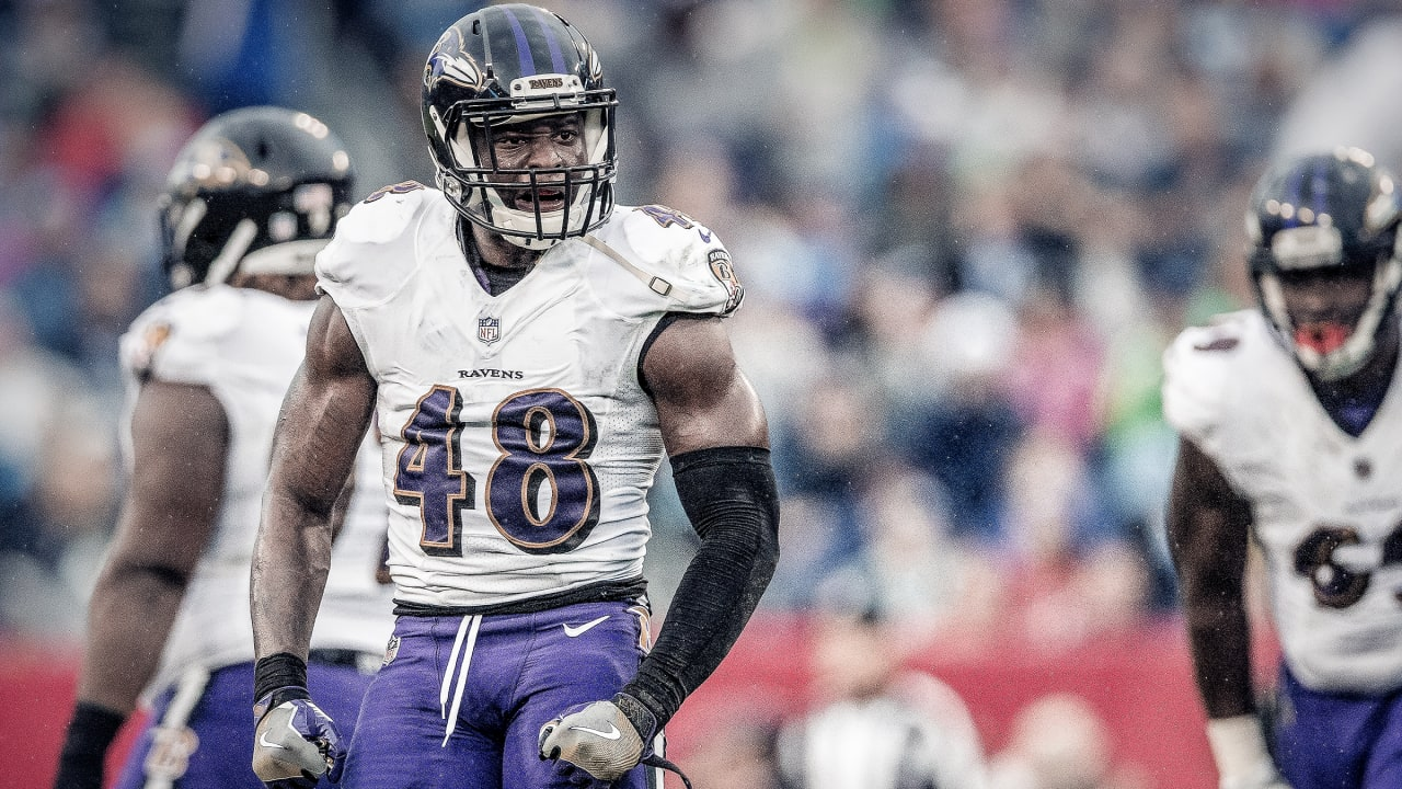 Report: Ravens Place Second-Round Tender on LB Patrick Onwuasor